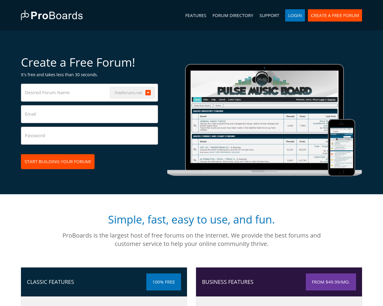 ProBoards Advertising Mediakits, Reviews, Pricing, Traffic