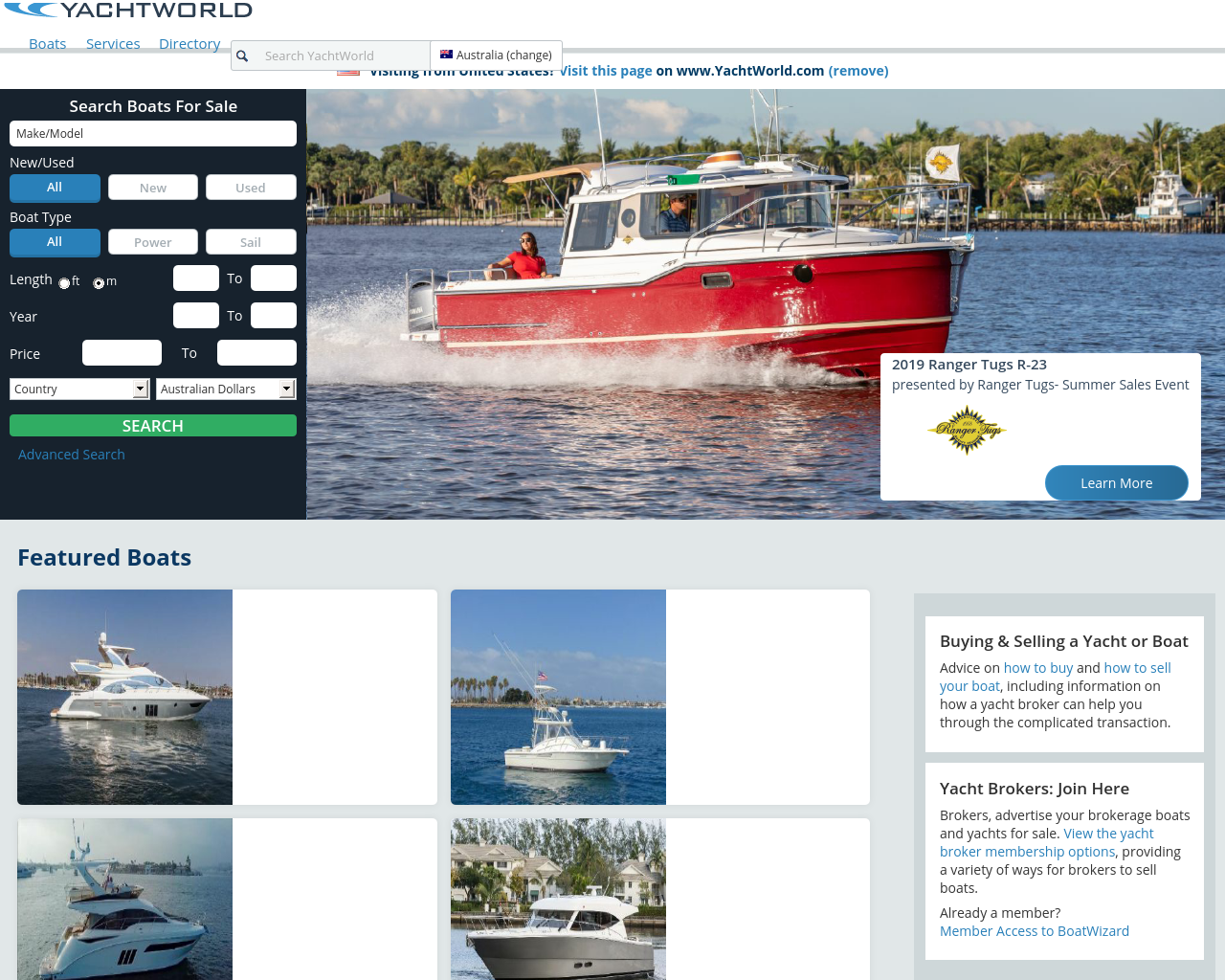 YachtWorld Advertising Mediakits, Reviews, Pricing, Traffic