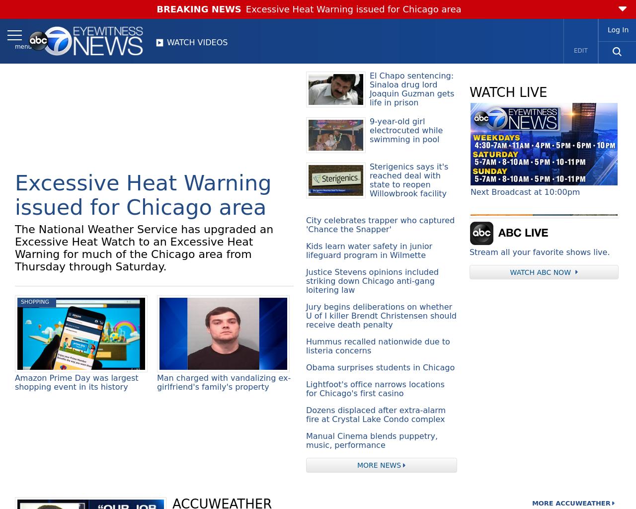 ABC7 Chicago Advertising Mediakits, Reviews, Pricing