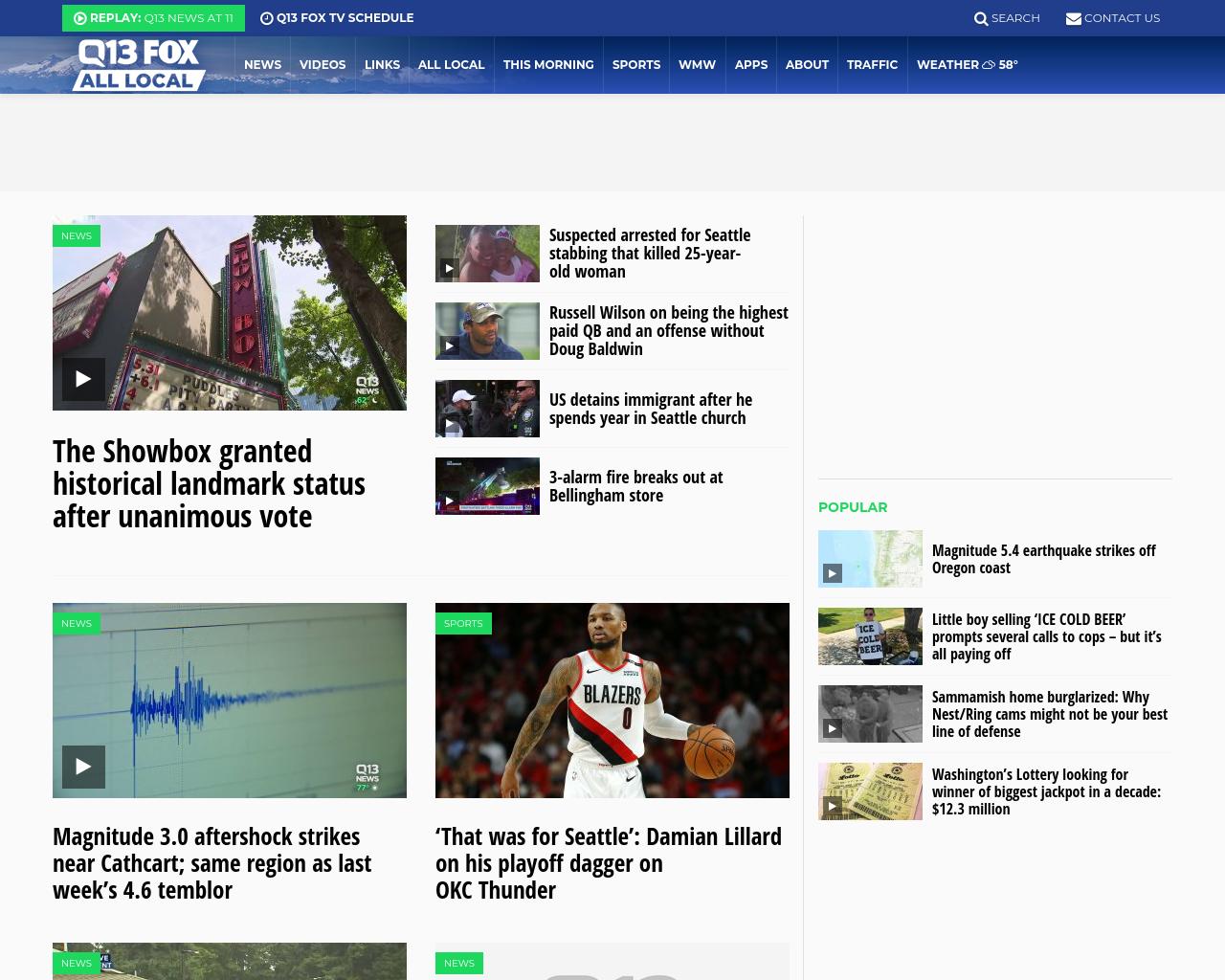 Q13 FOX News Advertising Mediakits, Reviews, Pricing
