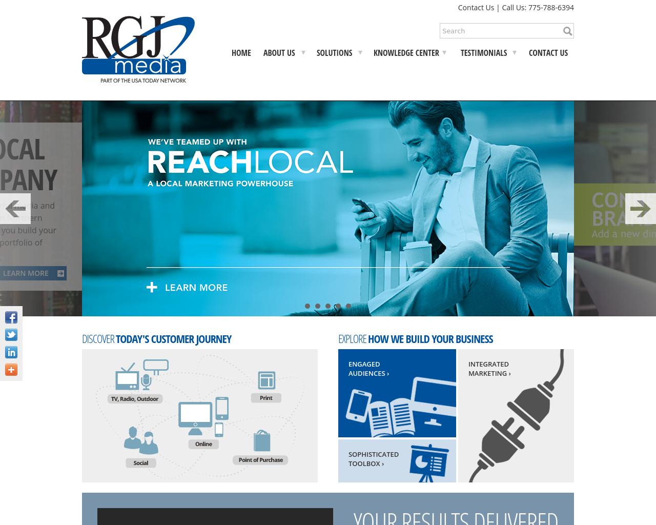 Reno Gazette Journal Advertising Mediakits, Reviews, Pricing