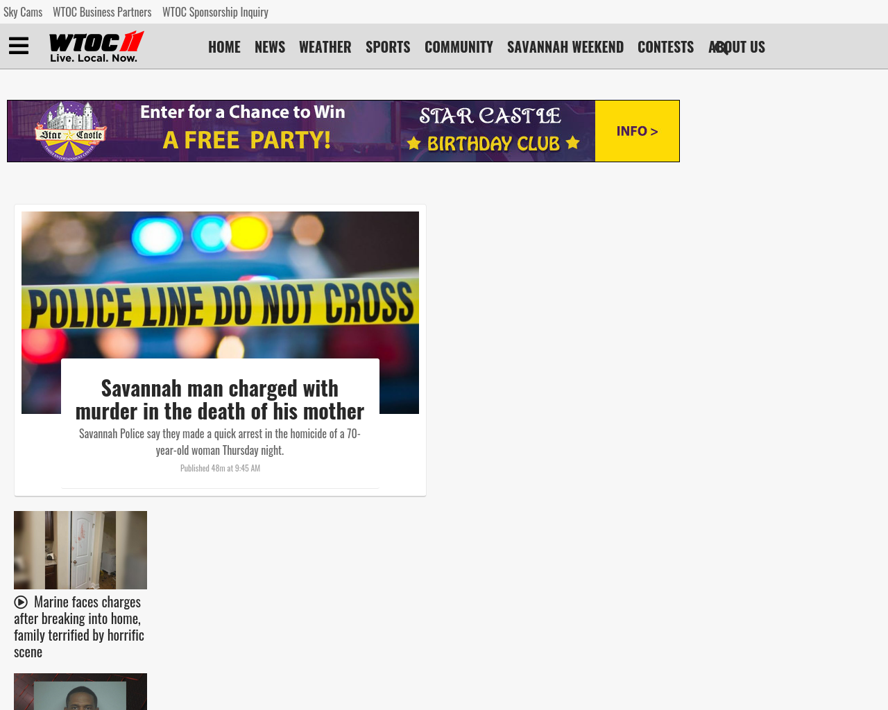WTOC-TV Advertising Mediakits, Reviews, Pricing, Traffic, Rate Card Cost