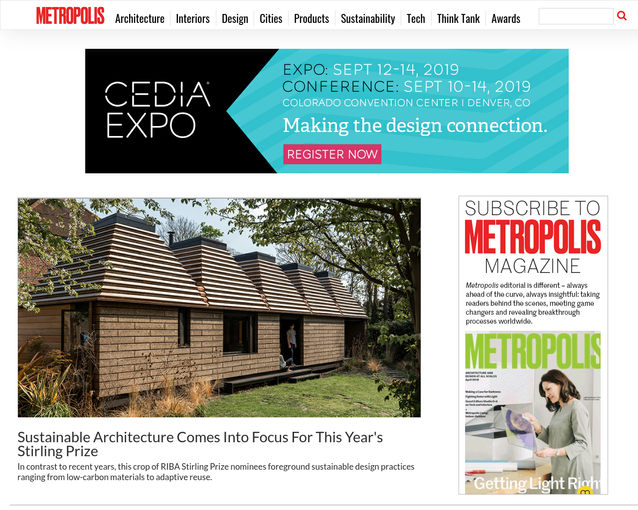 Metropolis Magazine Advertising Mediakits, Reviews, Pricing, Traffic