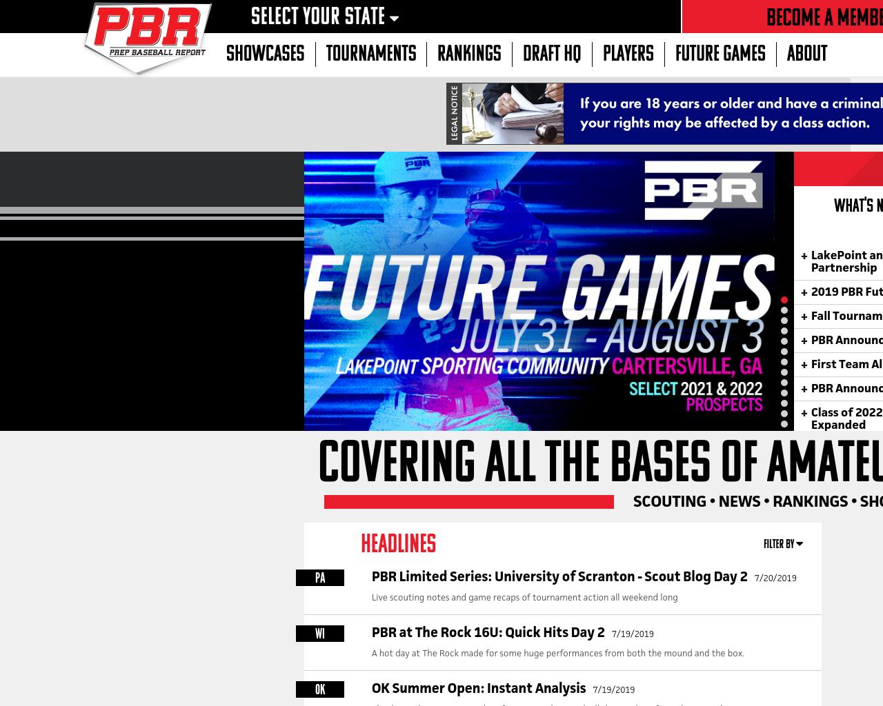 The Prep Baseball Report Advertising Mediakits, Reviews