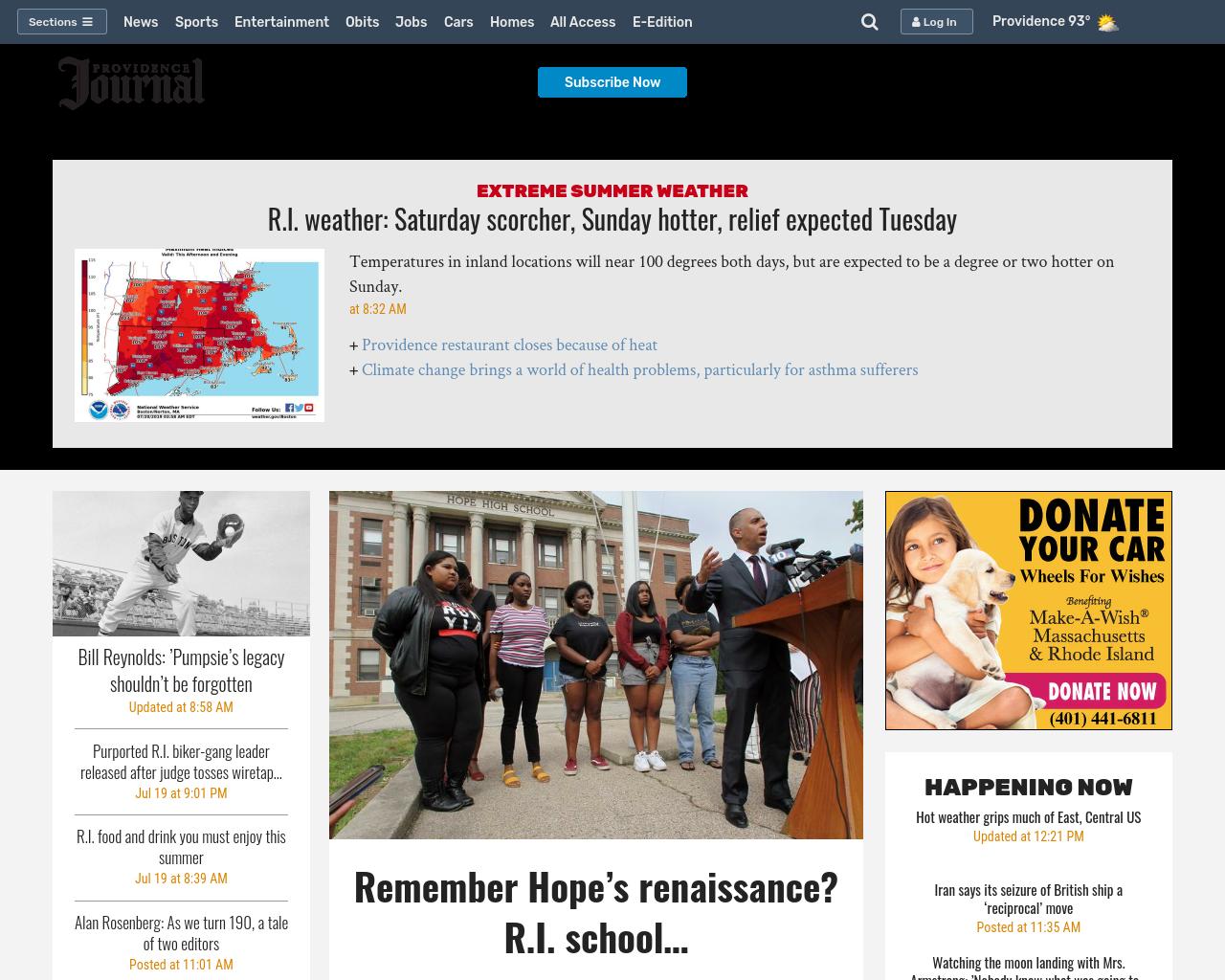 Providence Journal Advertising Mediakits, Reviews, Pricing