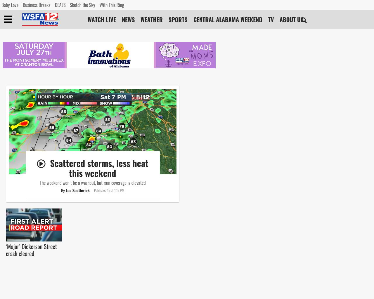 Wsfa Advertising Mediakits, Reviews, Pricing, Traffic, Rate Card Cost