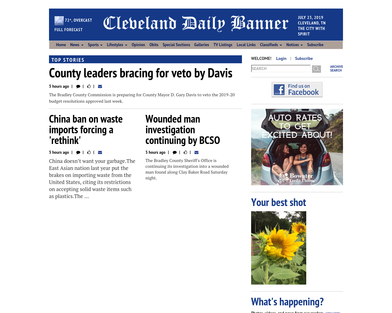 Cleveland Daily Banner Advertising Mediakits, Reviews