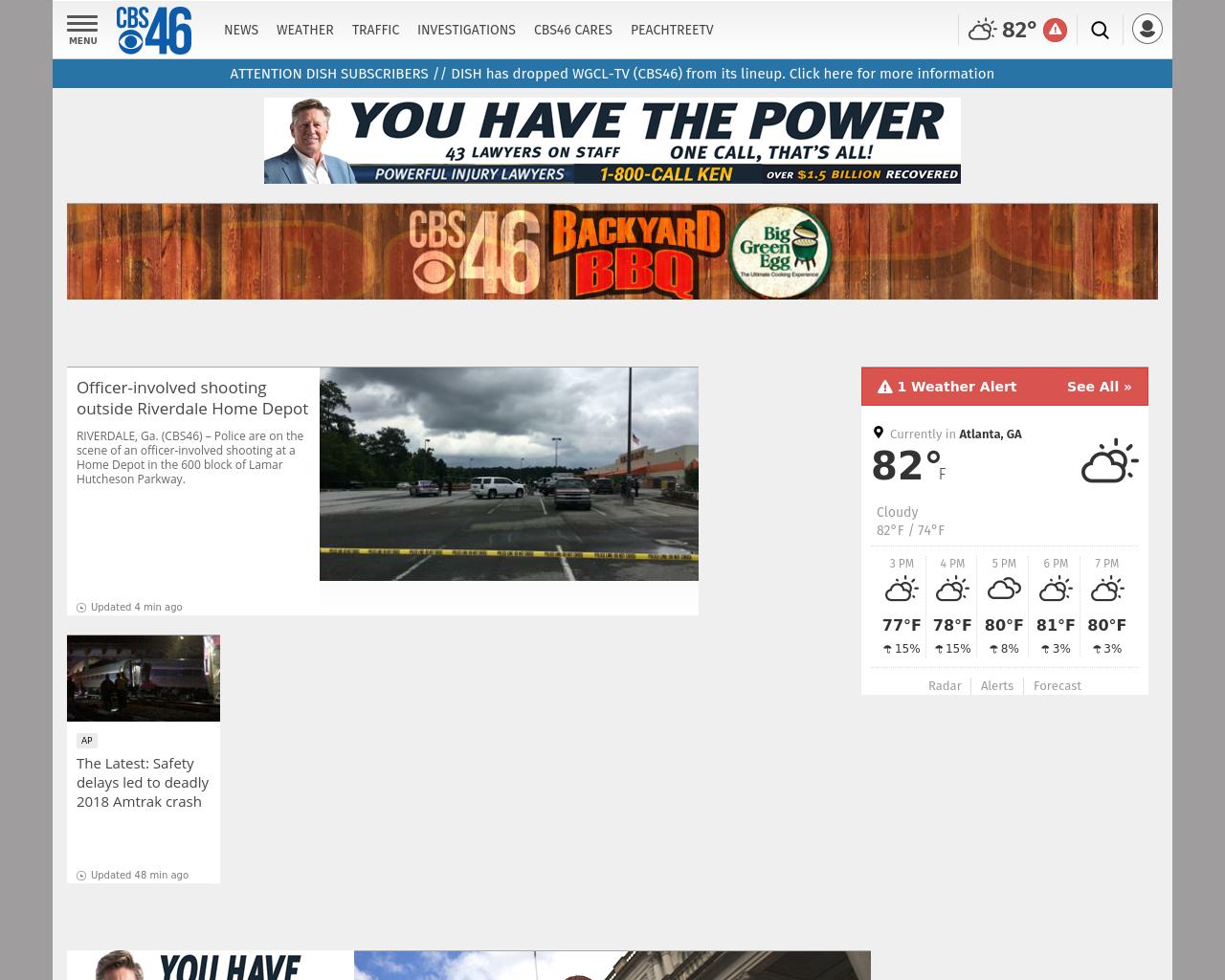 CBS46 Advertising Mediakits, Reviews, Pricing, Traffic, Rate