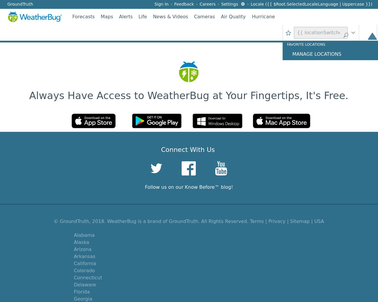 WeatherBug Advertising Mediakits, Reviews, Pricing, Traffic