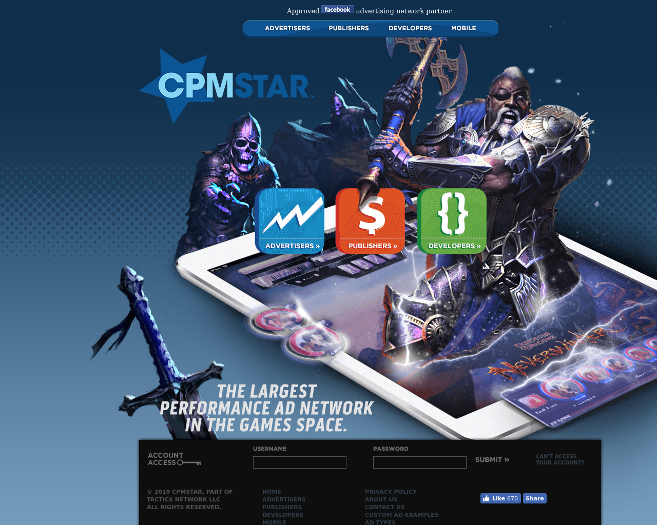 CPM Star Advertising Mediakits, Reviews, Pricing, Traffic