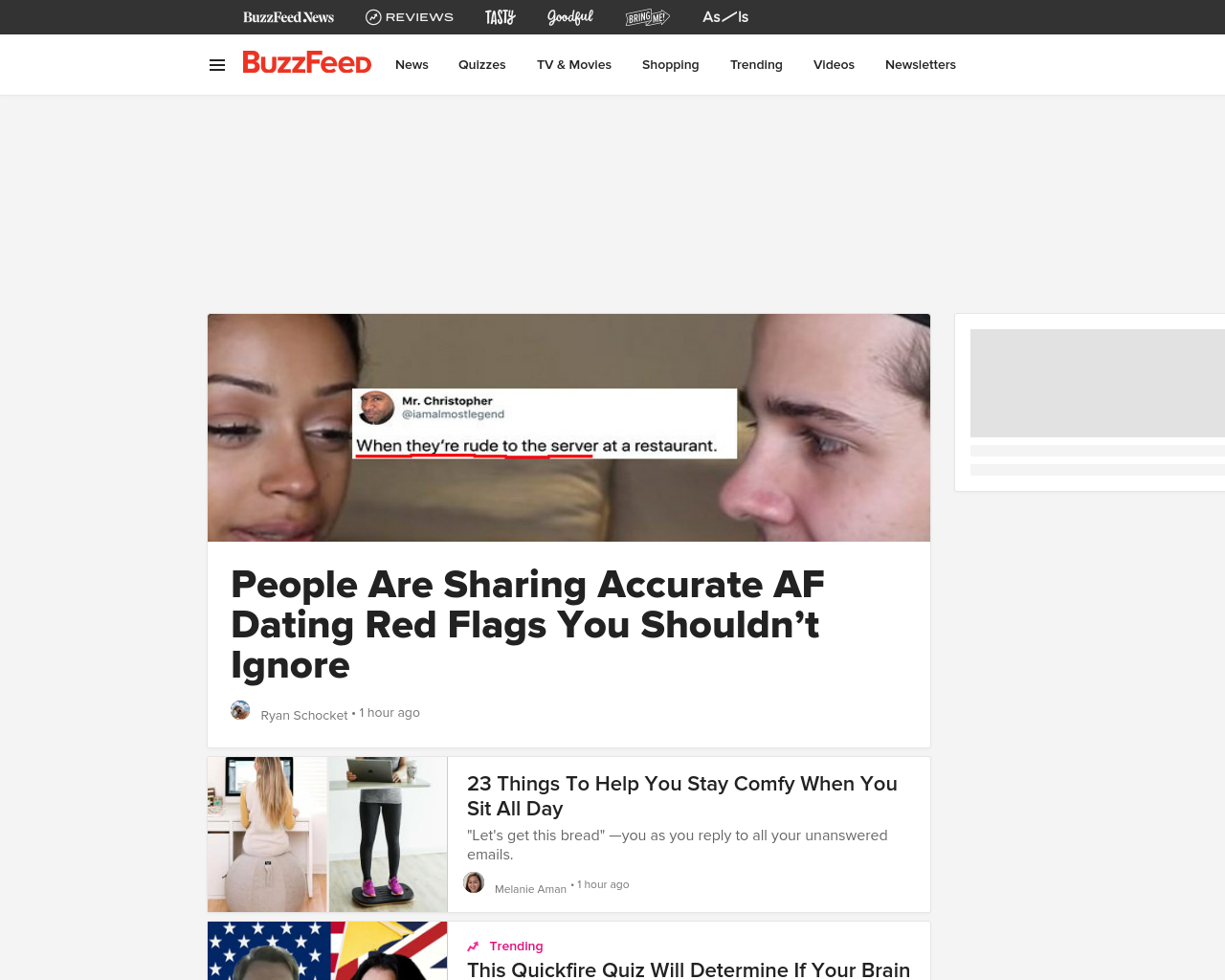 BuzzFeed Advertising Mediakits, Reviews, Pricing, Traffic, Rate Card