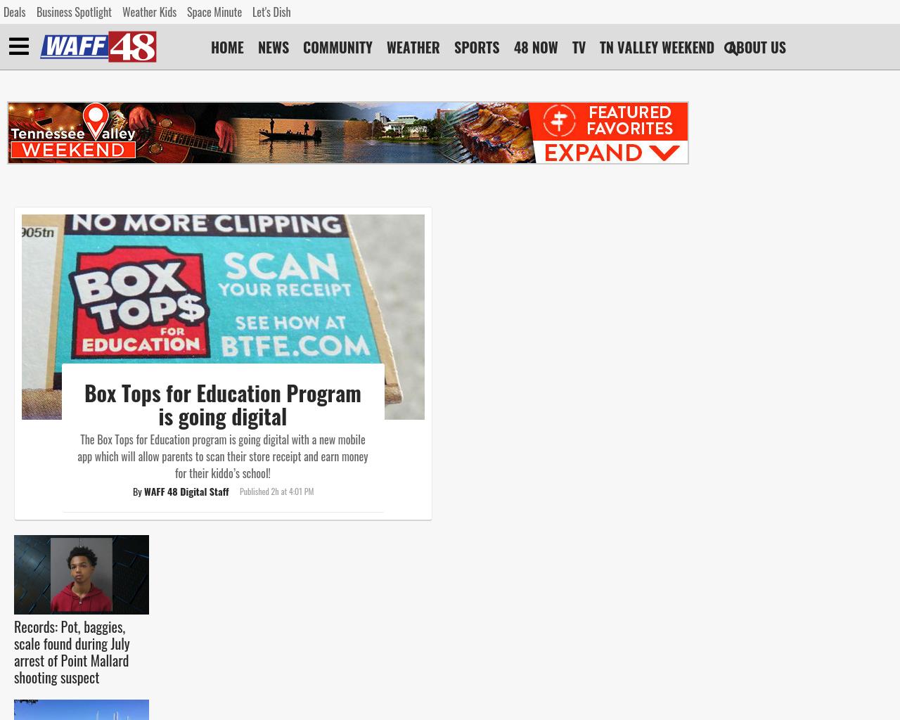Waff 48 News Shooting