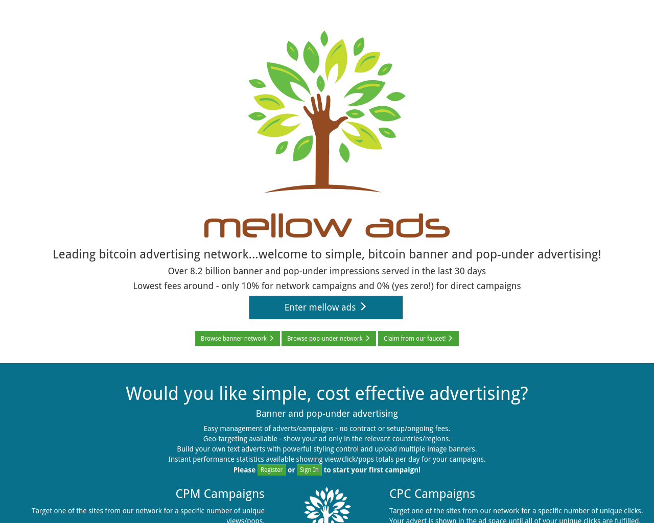 Mellow Ads Reviews, Pricing, Traffic, Rate Card Cost, eCPM, Mediakits