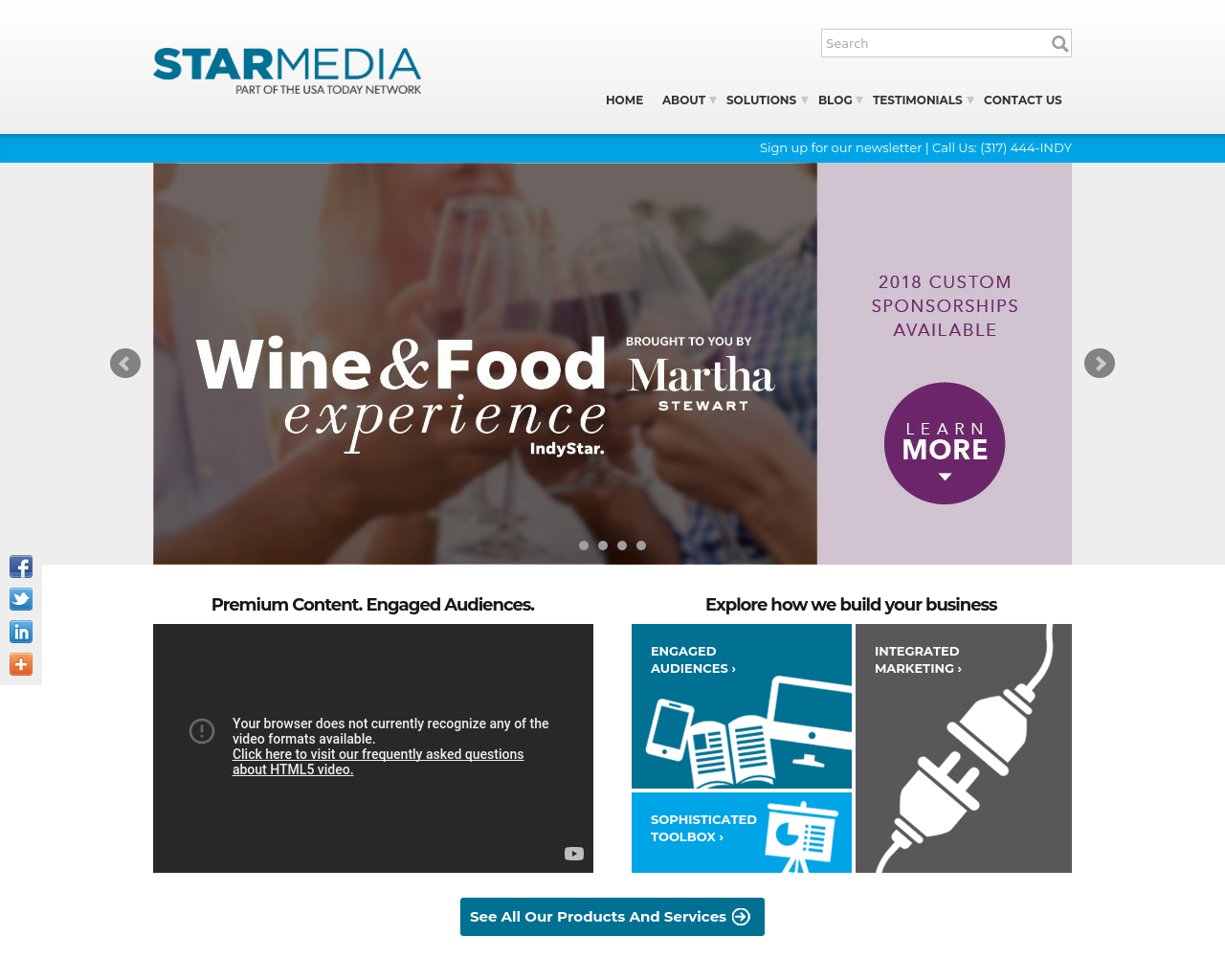 Indianapolis Star Media Advertising Mediakits, Reviews