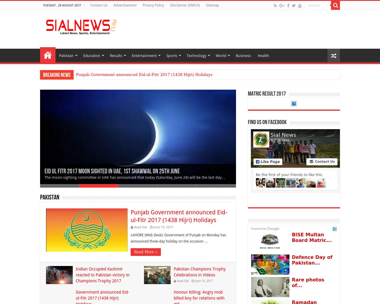 Sial-News-Advertising-Reviews-Pricing