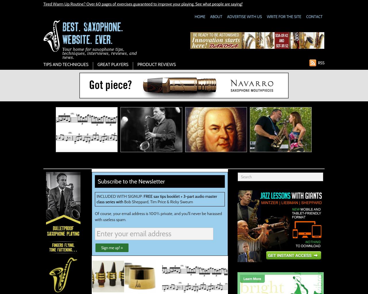 BEST.-SAXOPHONE.-WEBSITE.-EVER-Advertising-Reviews-Pricing
