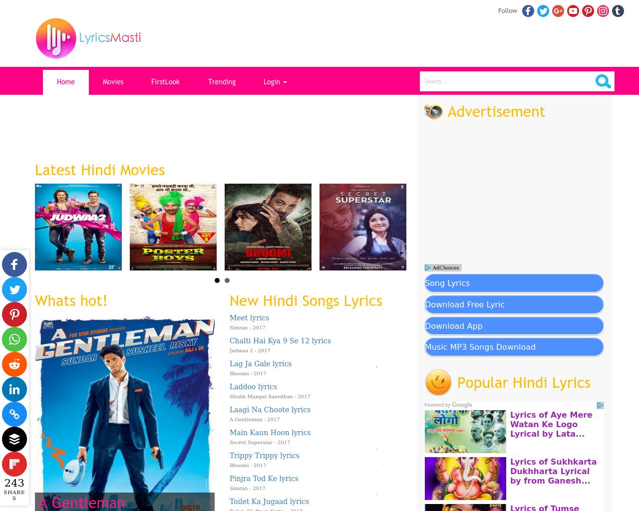 lyrics-masti-Advertising-Reviews-Pricing