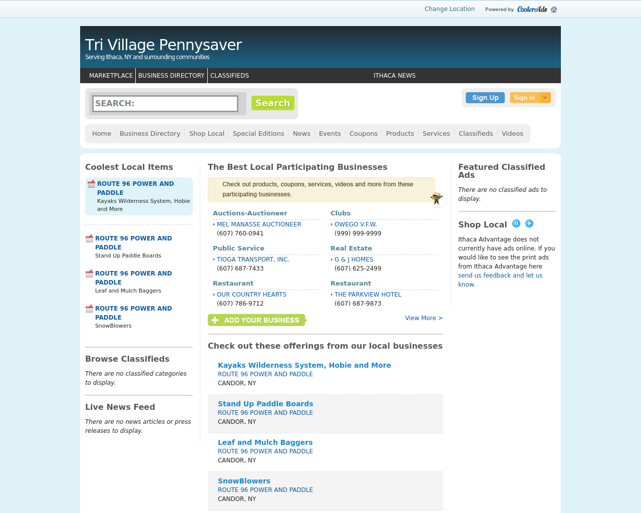 Tri-Village-Pennysaver-Advertising-Reviews-Pricing