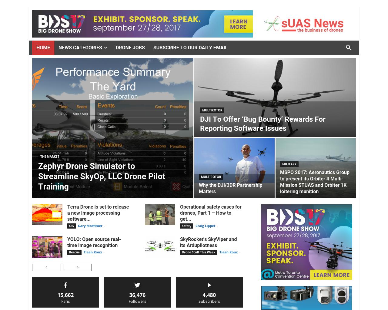 sUAS-News-Advertising-Reviews-Pricing
