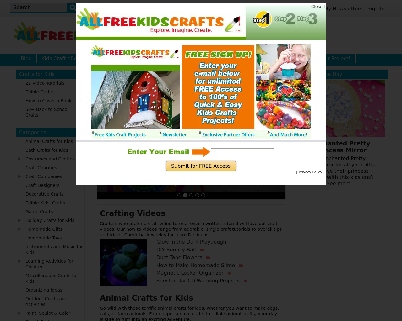 All-Free-Kids-Crafts-Advertising-Reviews-Pricing