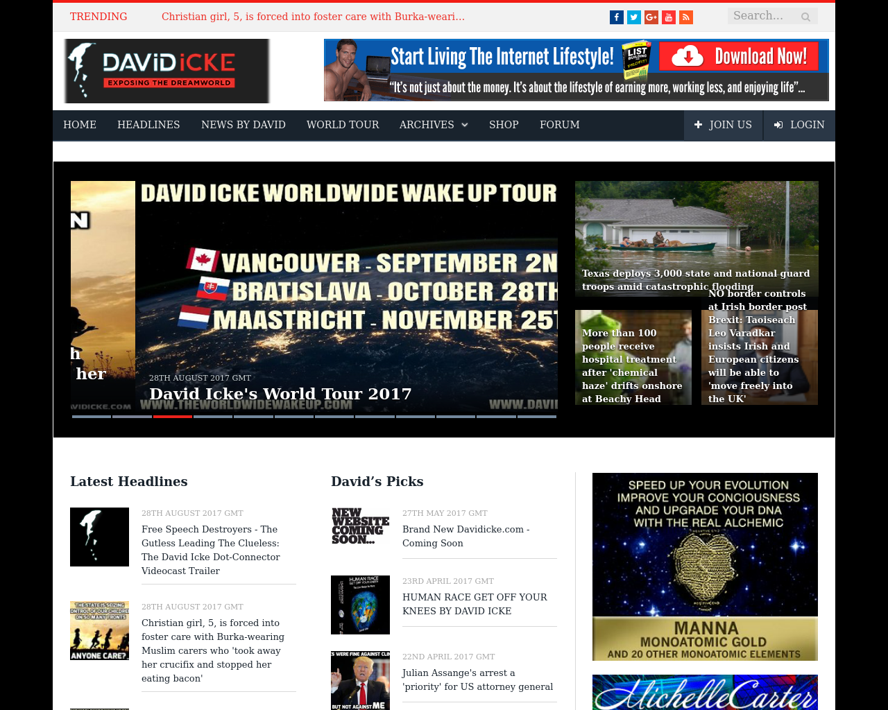 David-Icke-Advertising-Reviews-Pricing