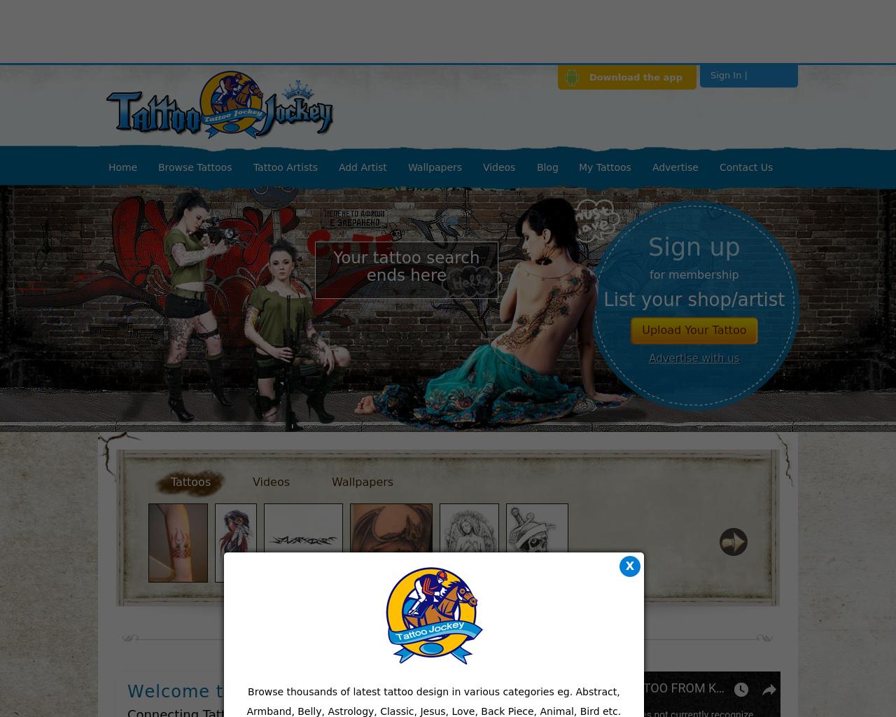 Tattoojockey.com-Advertising-Reviews-Pricing