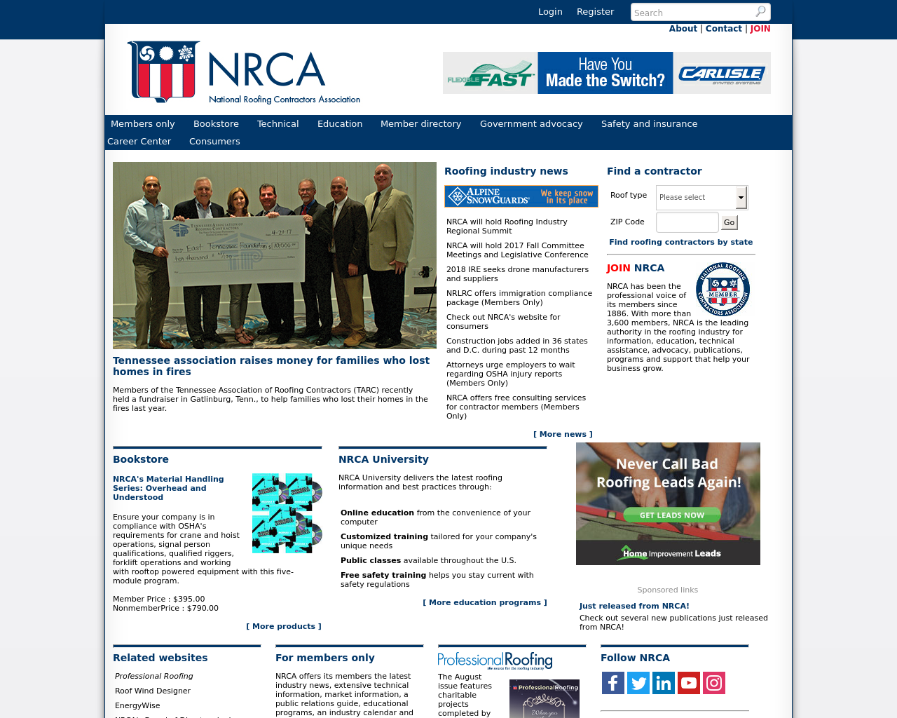 National-Roofing-Contractors-Association-Advertising-Reviews-Pricing