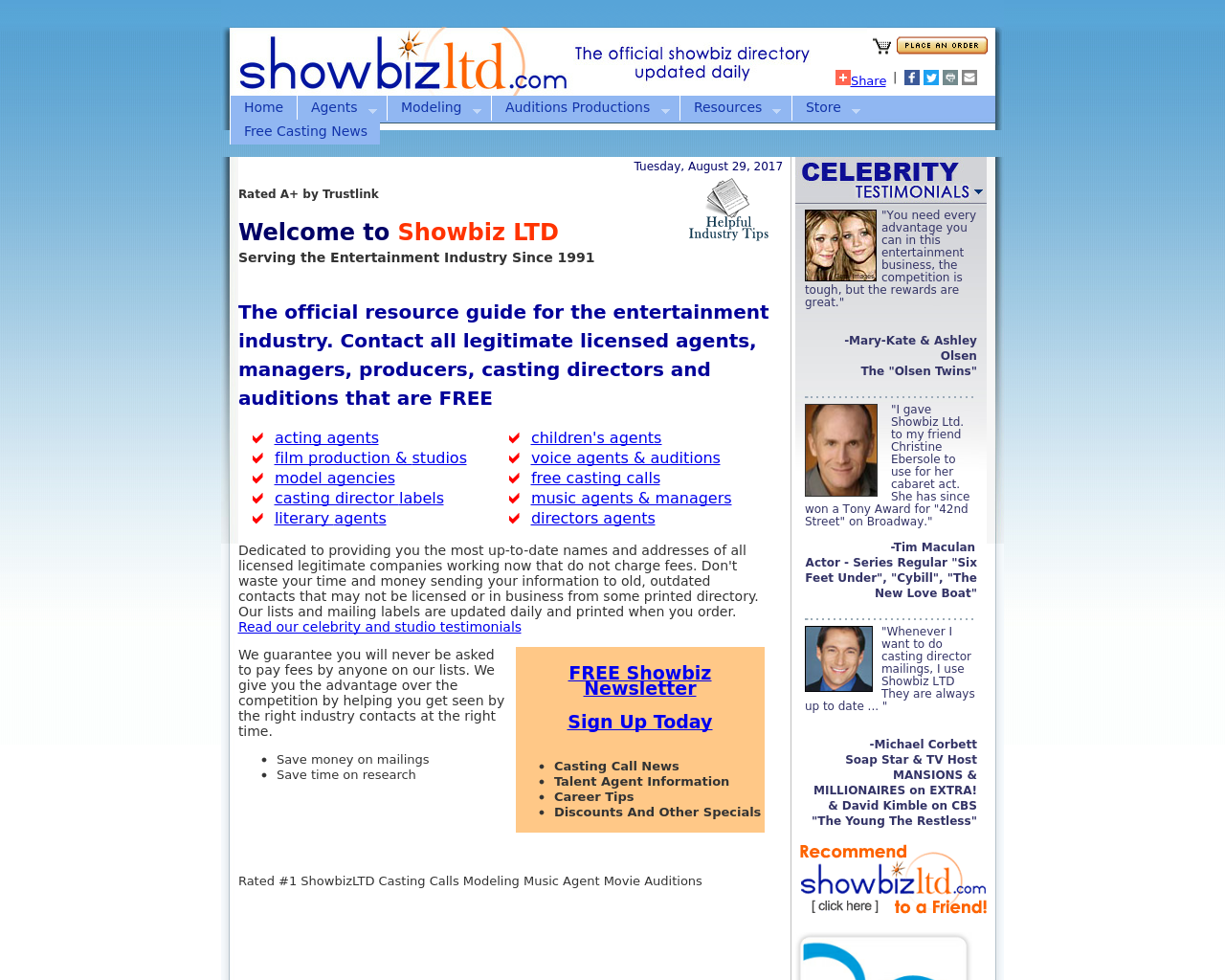 Showbiz-Ltd-Advertising-Reviews-Pricing