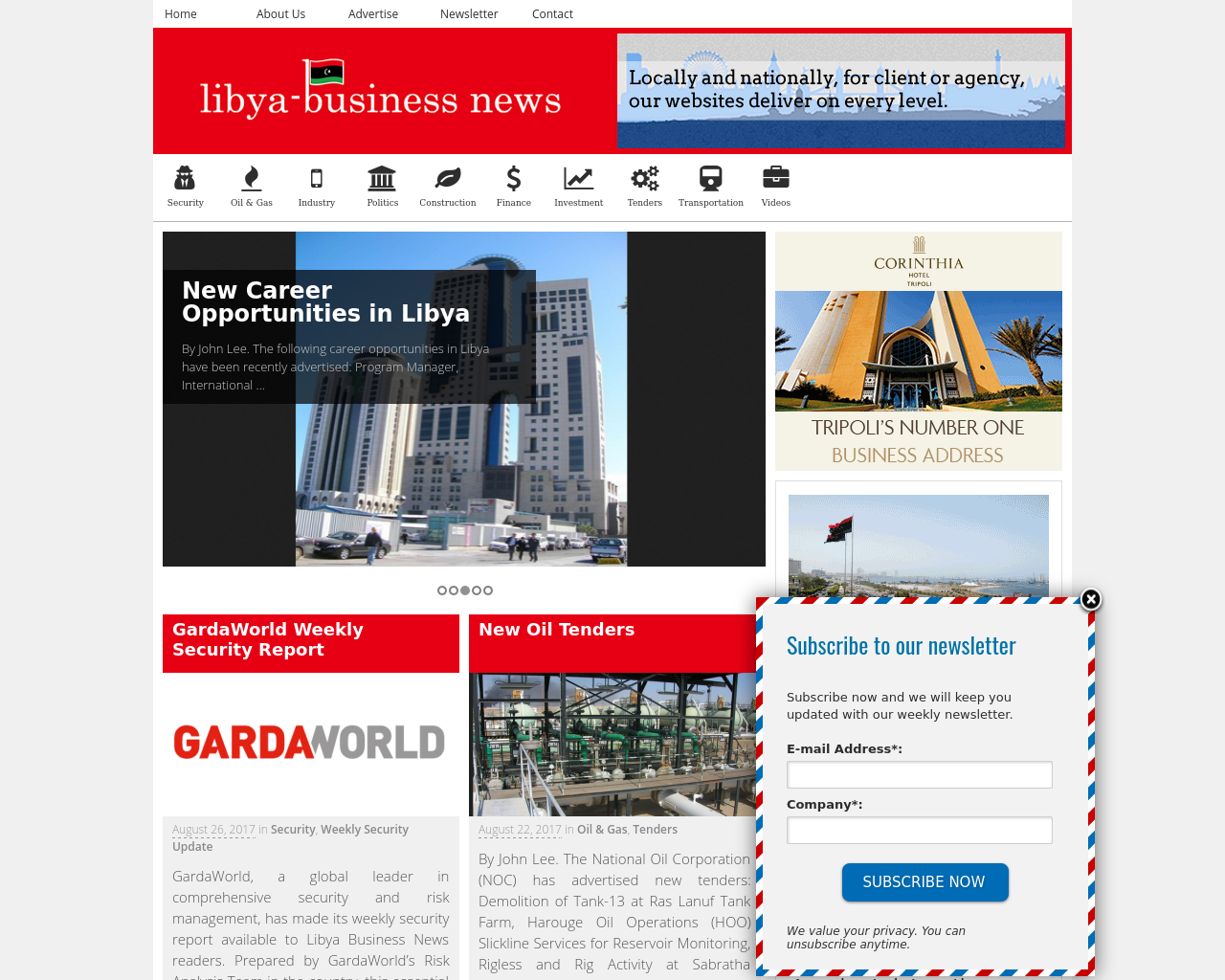 Libya-Business-News-Advertising-Reviews-Pricing