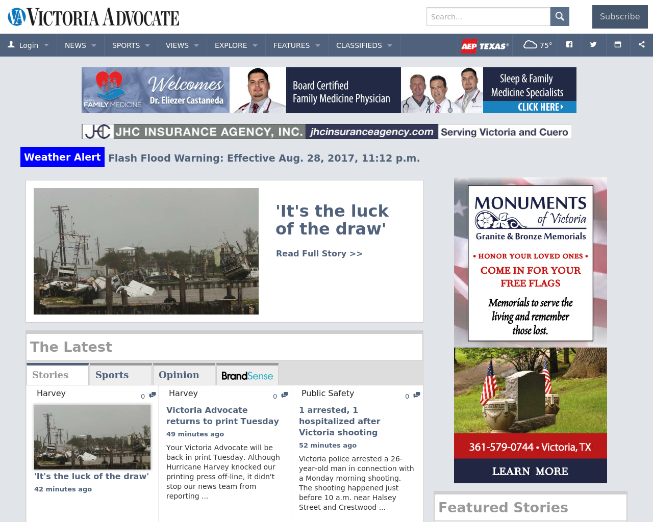 Victoria-Advocate-Advertising-Reviews-Pricing