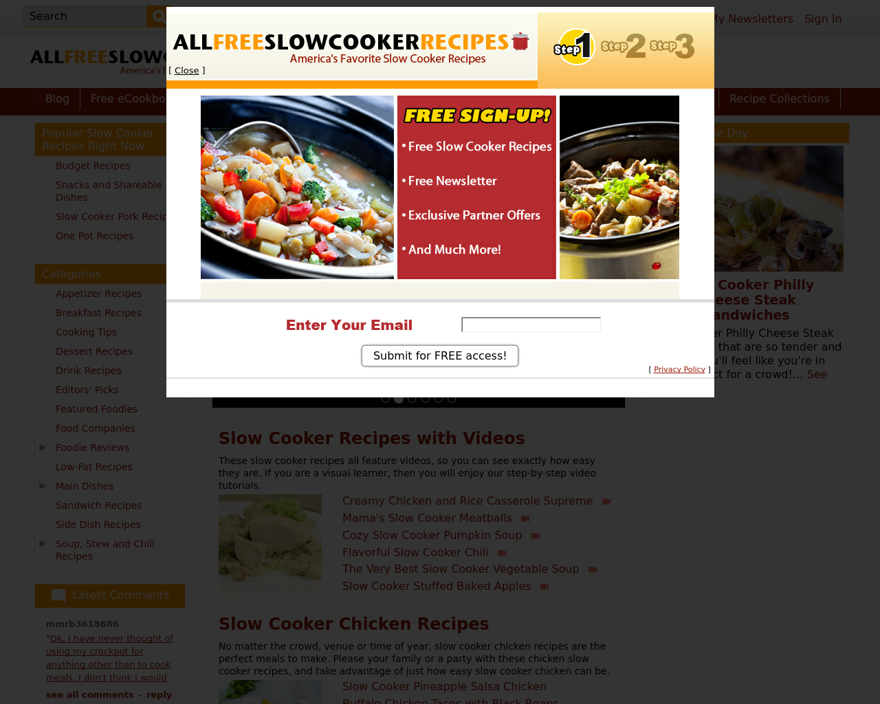 AllFreeSlowCookerRecipes-Advertising-Reviews-Pricing