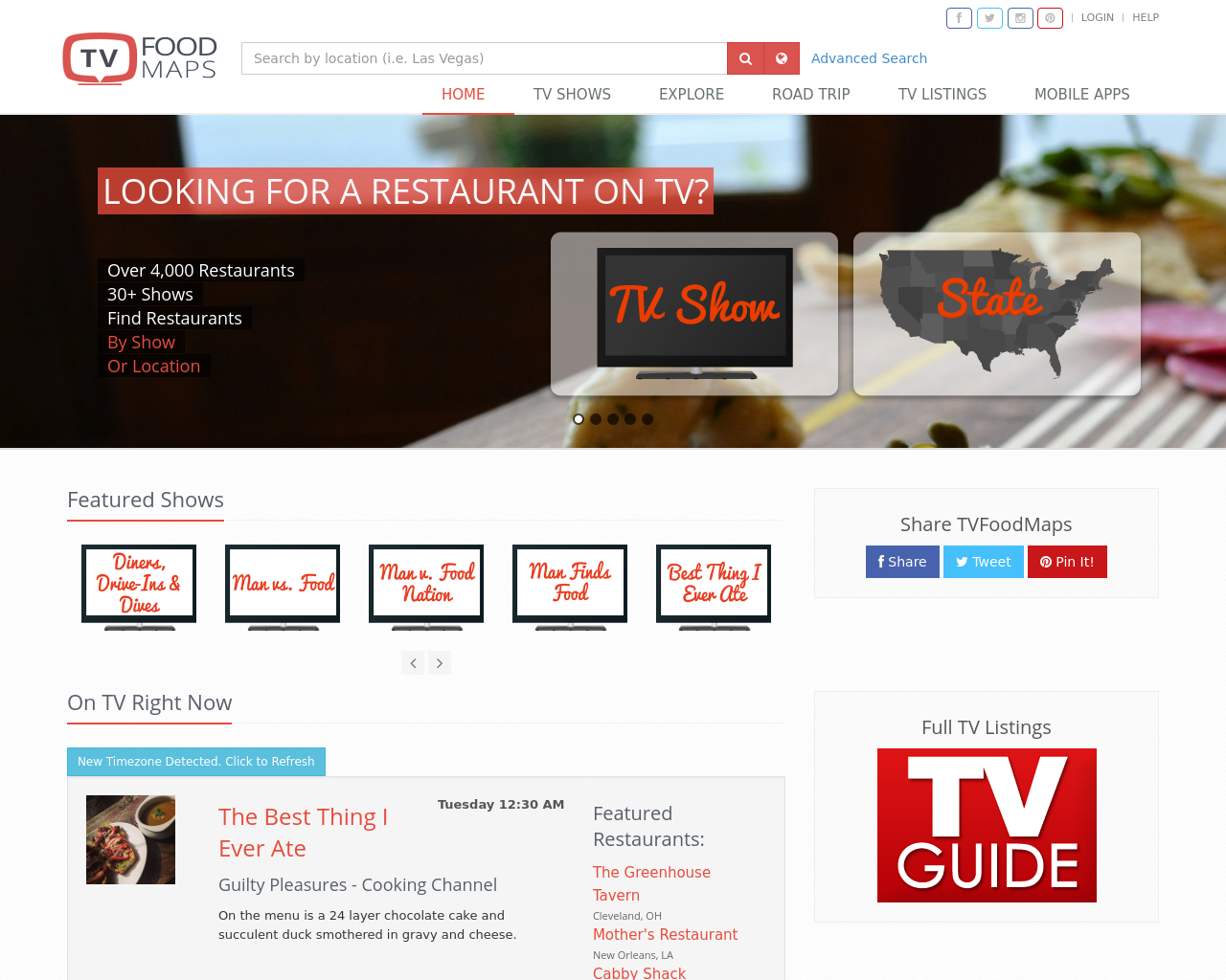 TV-Food-Maps-Advertising-Reviews-Pricing