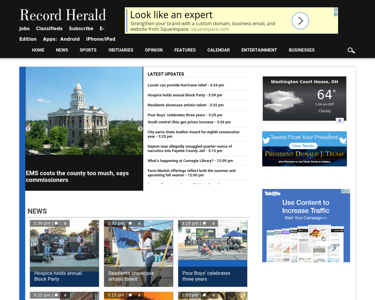 RecordHerald-Advertising-Reviews-Pricing