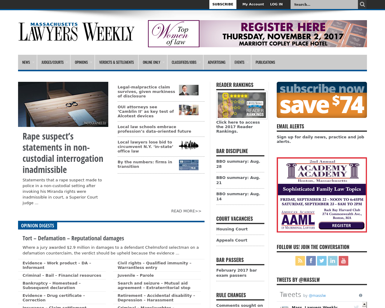 Massachusetts-Lawyers-Weekly-Advertising-Reviews-Pricing