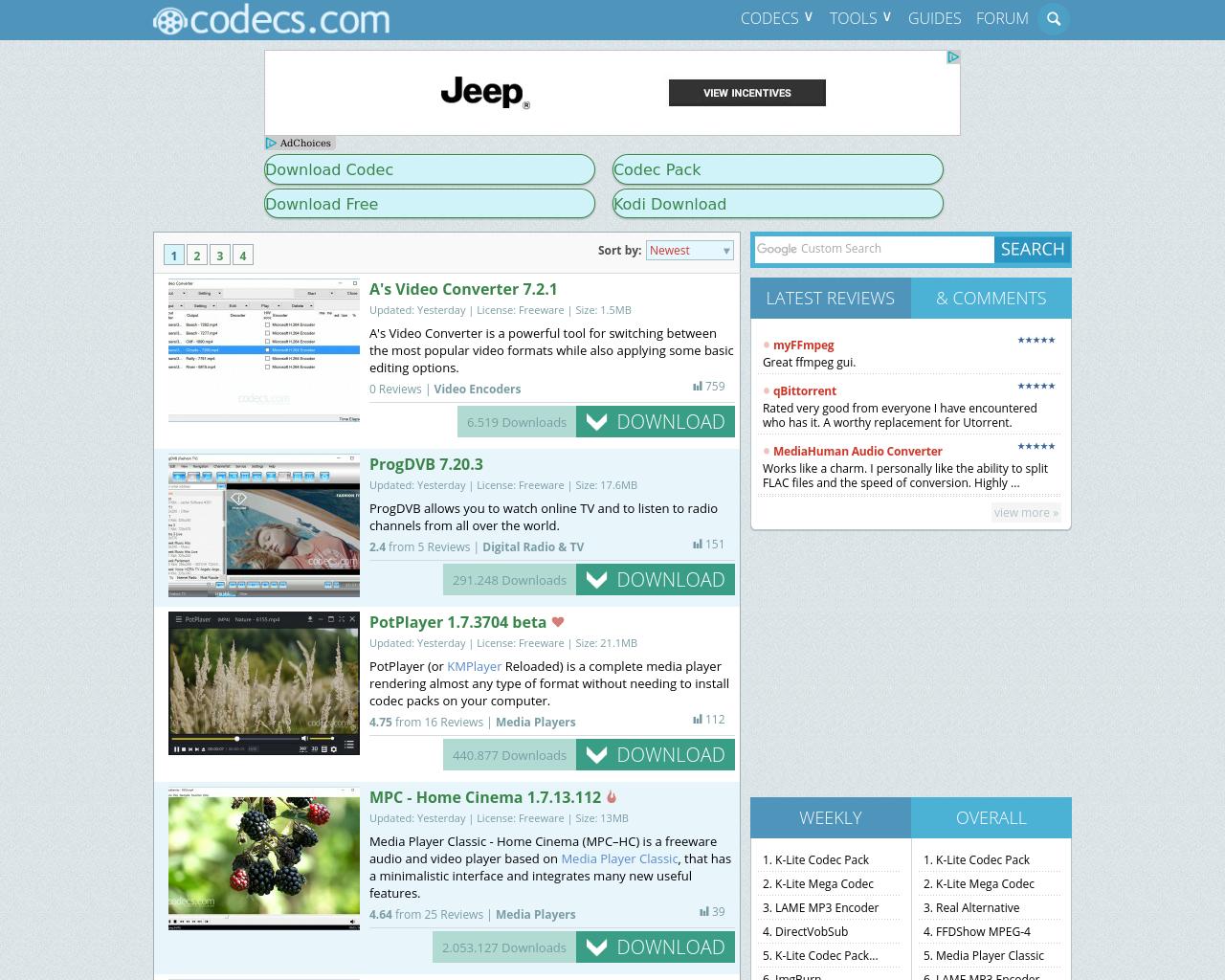 Codecs.com-Advertising-Reviews-Pricing