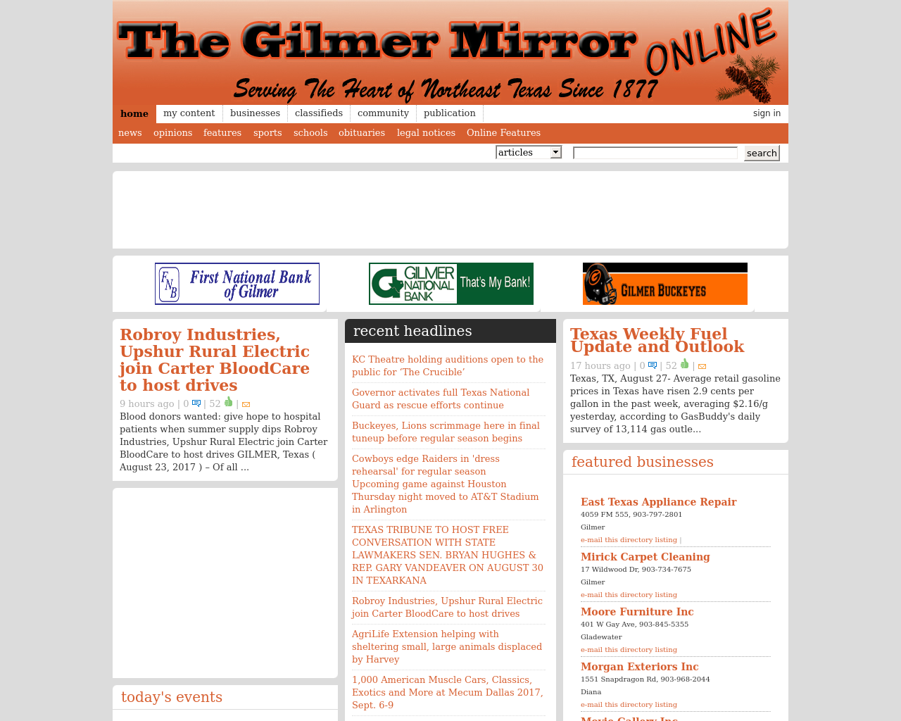 The-Gilmer-Mirror-Online-Advertising-Reviews-Pricing
