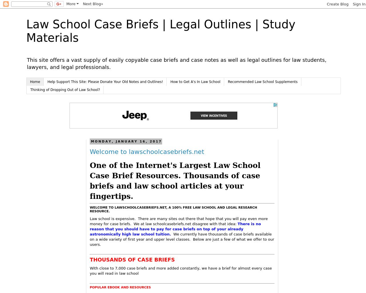 Law-School-Case-Briefs-Advertising-Reviews-Pricing