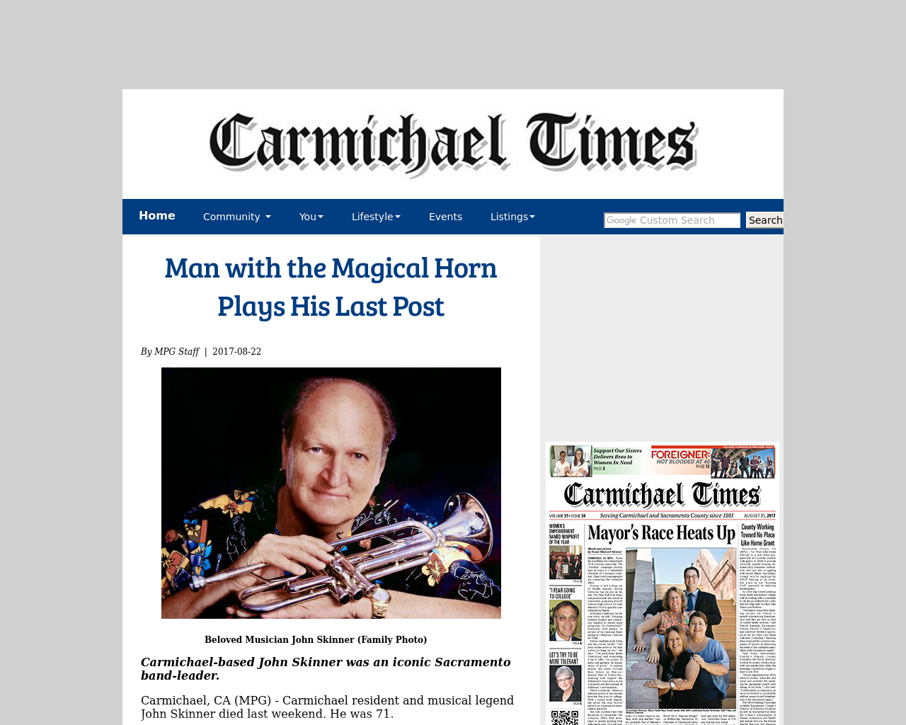 Carmichael-Times-Advertising-Reviews-Pricing
