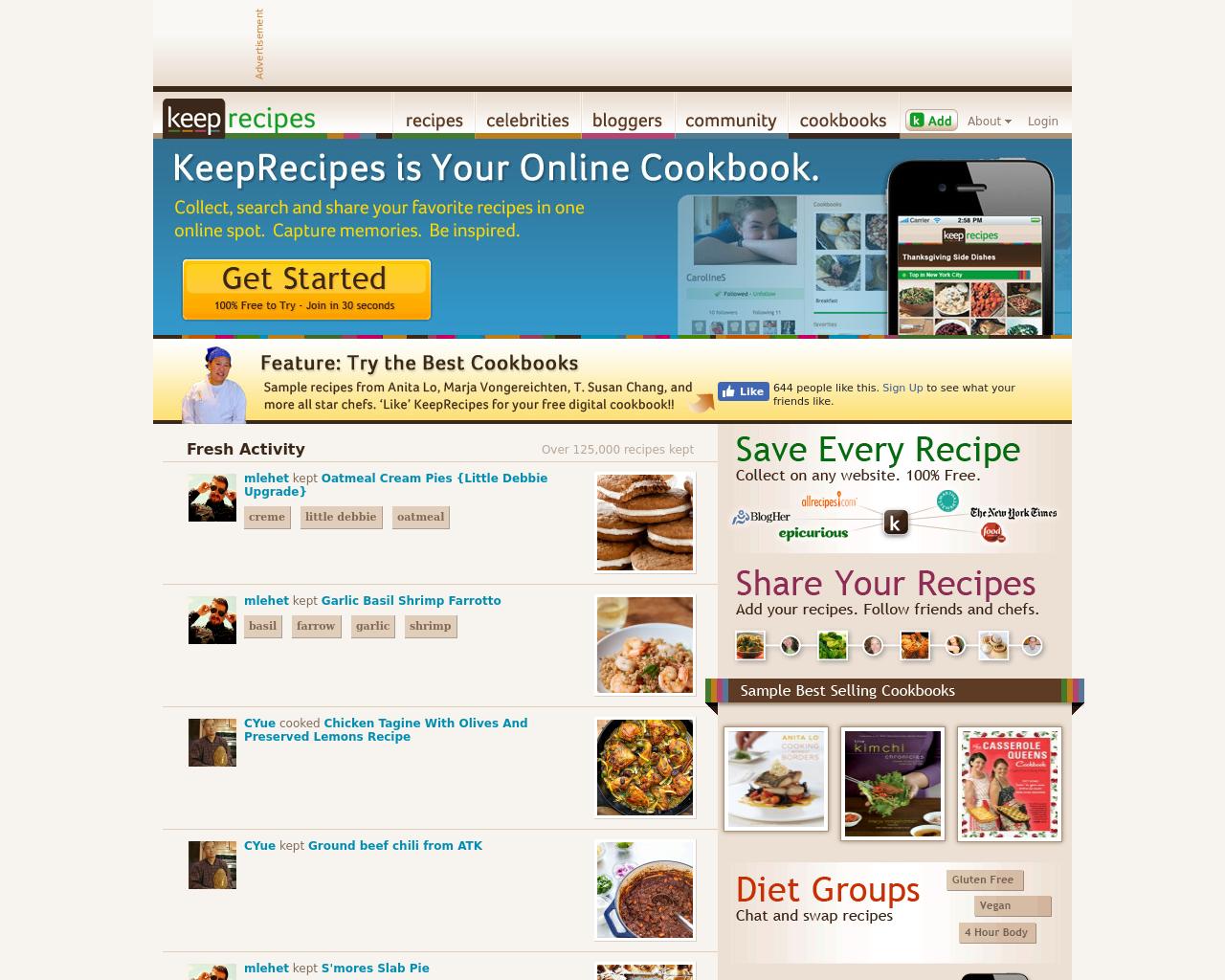 Keep-Recipes-Advertising-Reviews-Pricing