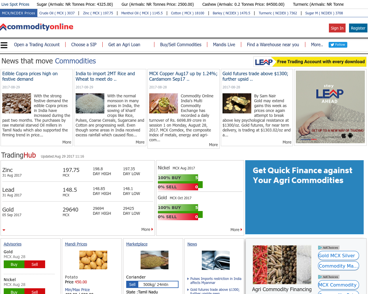Commodity-Online-Advertising-Reviews-Pricing