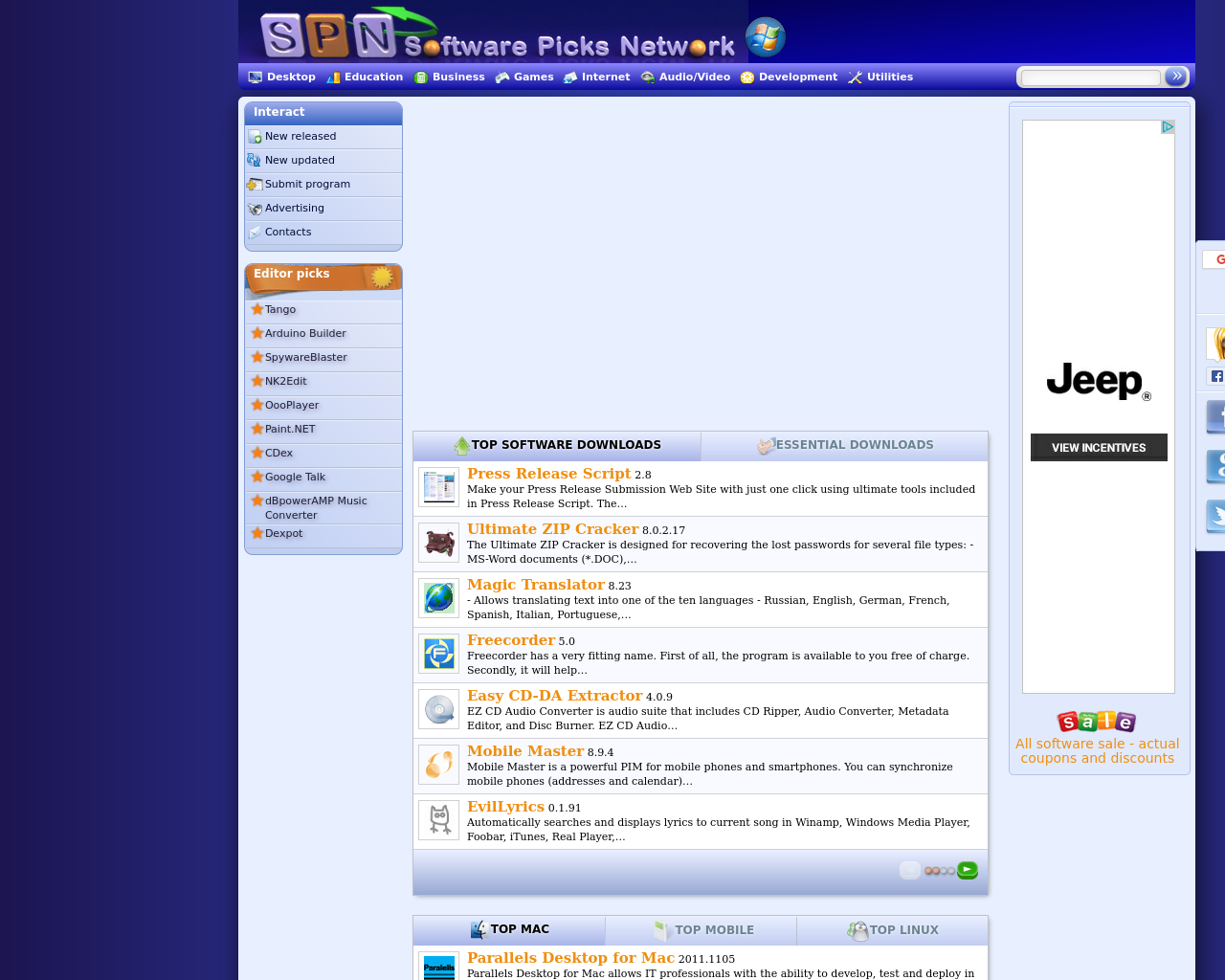 Software-Picks-Network-Advertising-Reviews-Pricing