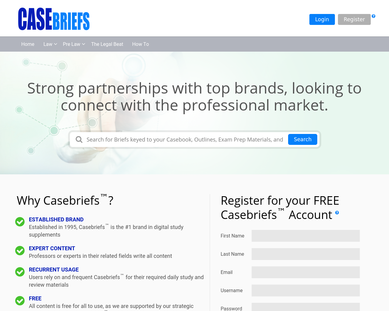 Casebriefs-Advertising-Reviews-Pricing