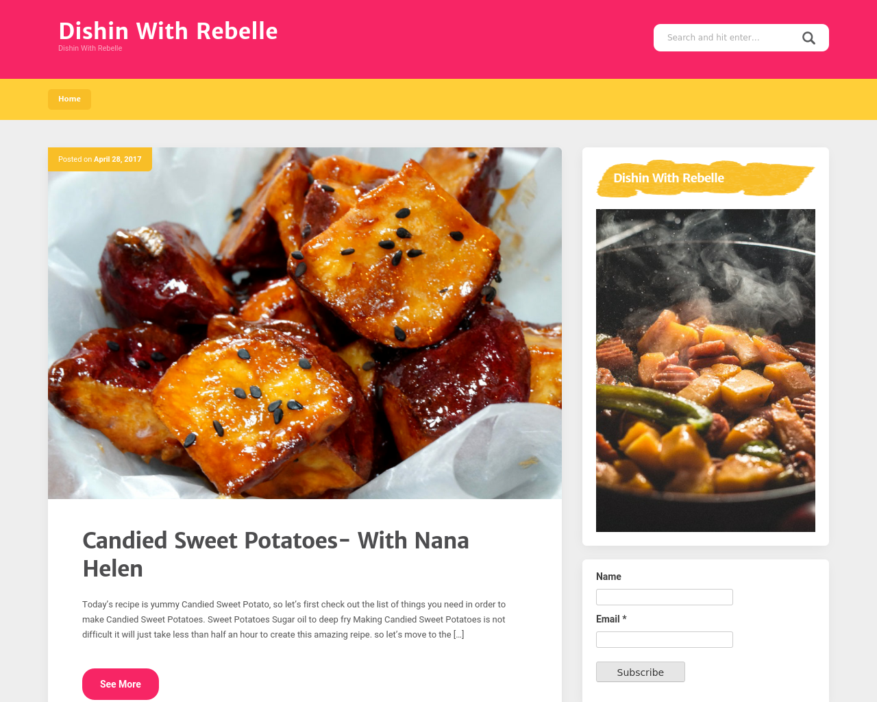 Dishin'-With-Rebelle-Advertising-Reviews-Pricing