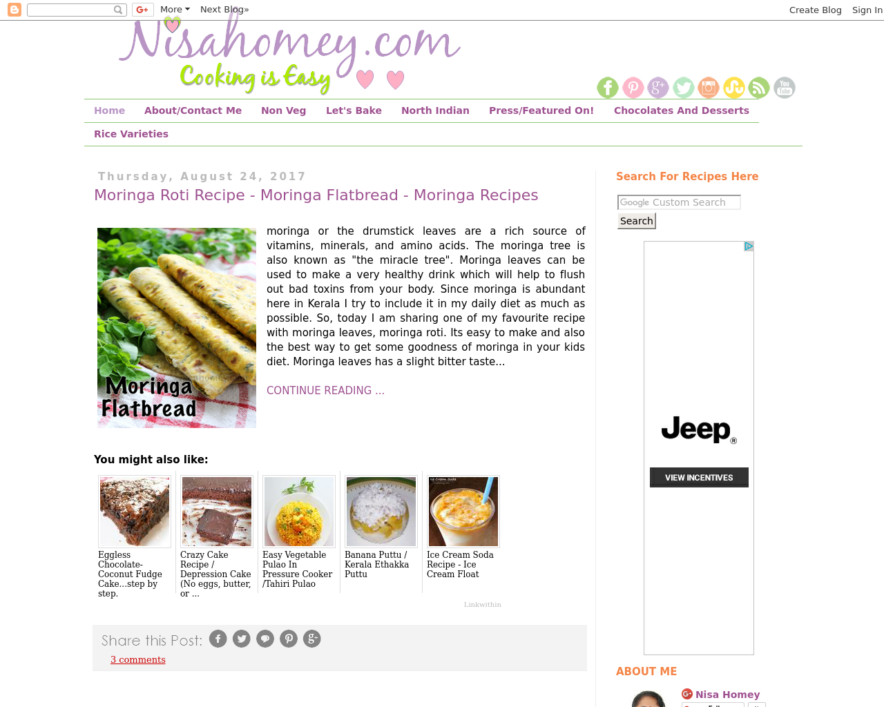 Nisahomey.com-Cooking-is-Easy-Advertising-Reviews-Pricing