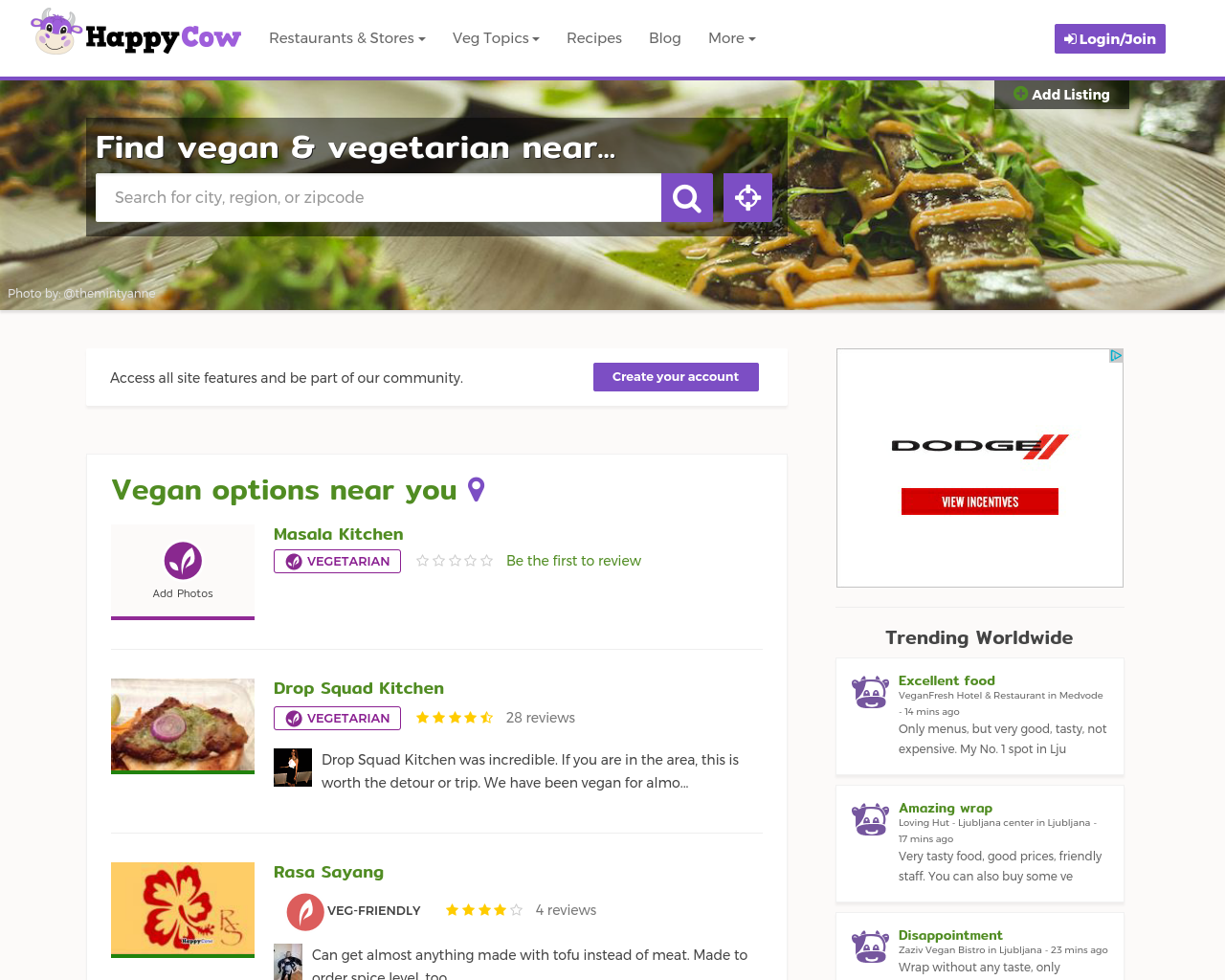 HappyCow-Advertising-Reviews-Pricing