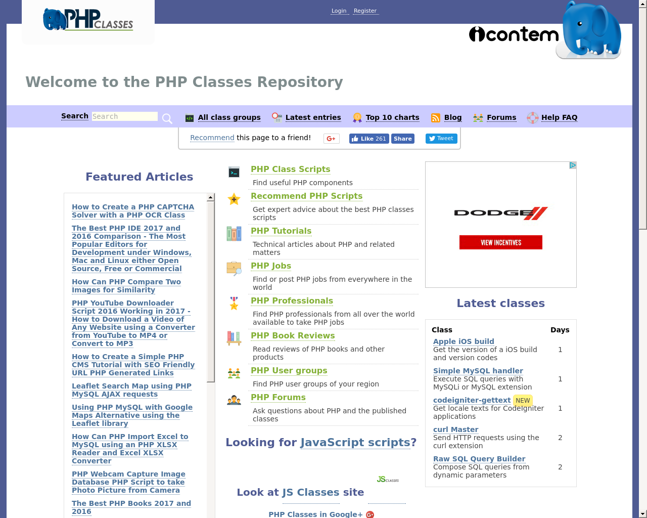 PHPClasses-Advertising-Reviews-Pricing