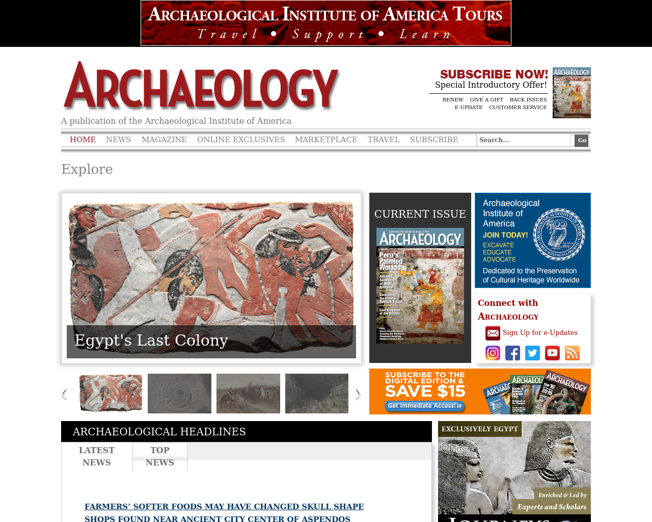 Archaeology-Magazine-Advertising-Reviews-Pricing