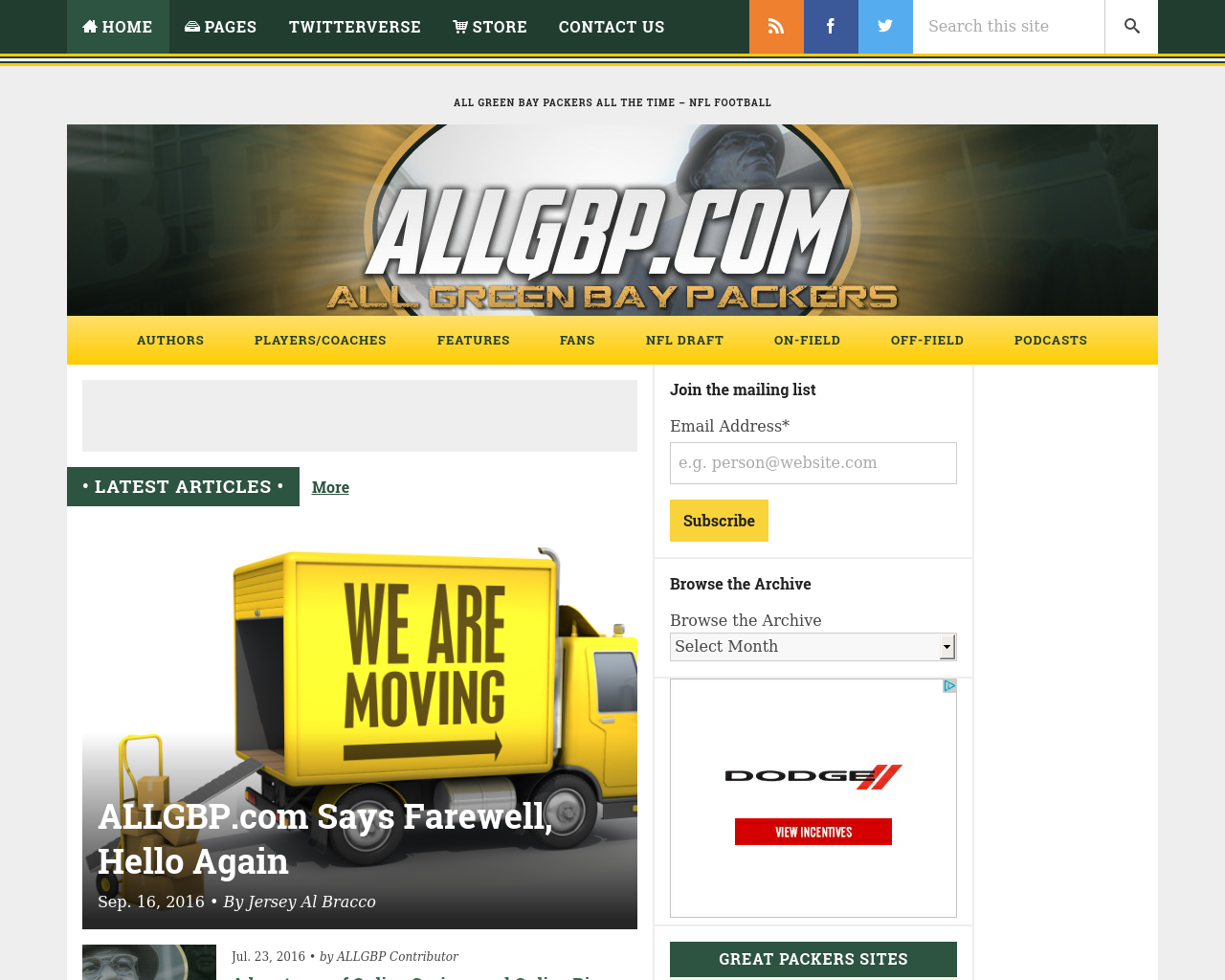 All-Green-Bay-Packers.com-Advertising-Reviews-Pricing