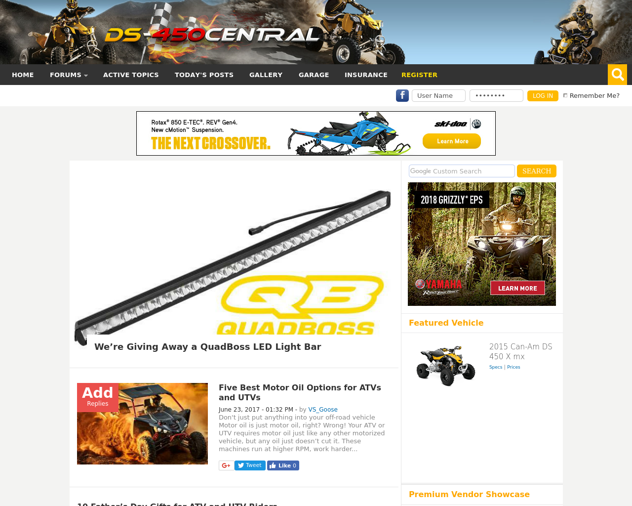 Can-Am-DS450-Advertising-Reviews-Pricing