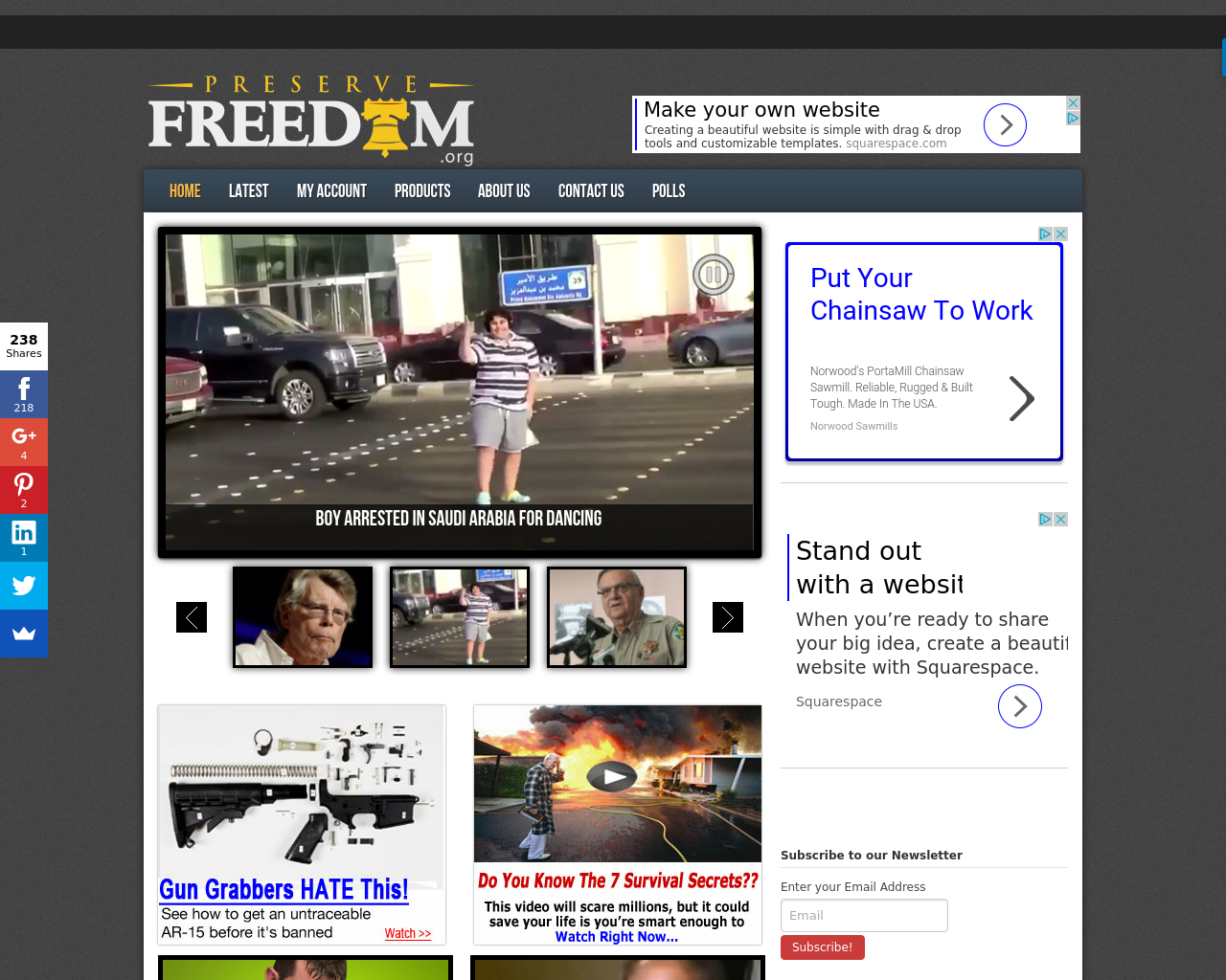 PreserveFreedom.org-Advertising-Reviews-Pricing
